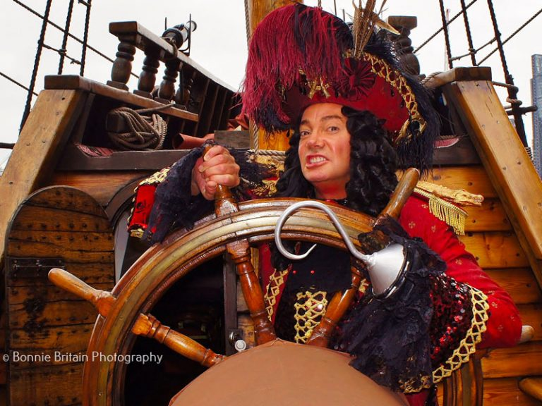 Craig Revel Horwood as Captain Hook