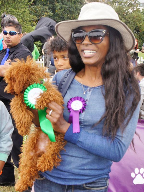 Sinnita at Pup Aid