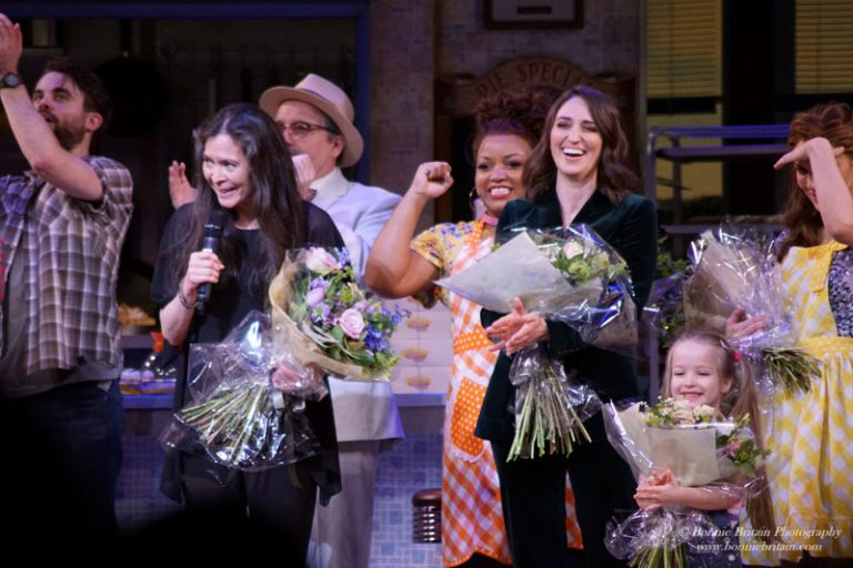 Waitress Press Night March 2019
