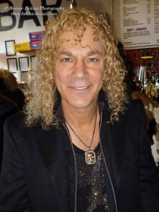 David Bryan in London at the opening of his musical Toxic Avenger