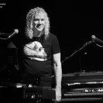 David Bryan playing with Bon Jovi in London